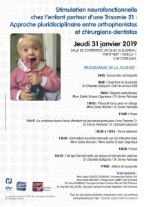 Affichette A4 Journée T21 31 janvier 2019